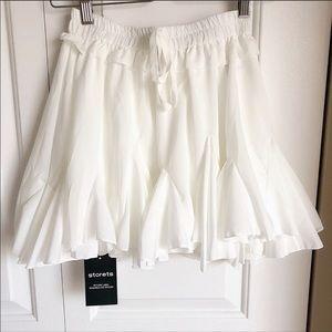 5b9fb03a2 Storets Skirts   Emilee Angelic Skortskirt   Poshmark